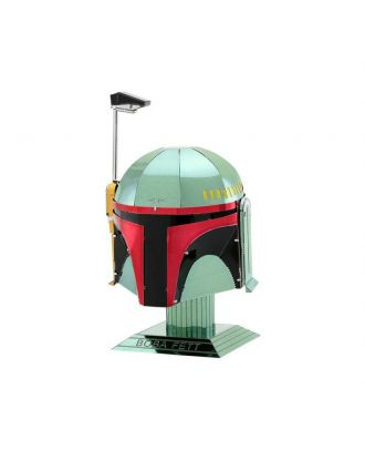 Star Wars Helmet Collection – Boba Fett Metal Earth 3D Laser Cut Metal Puzzle by Fascinations