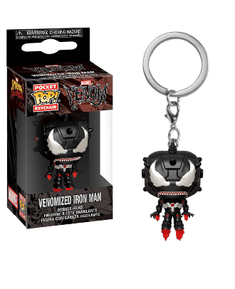 POP Keychain: Marvel Venom - Iron Man Venomized Iron Man Funko POP! VInyl Figure Bobble Head