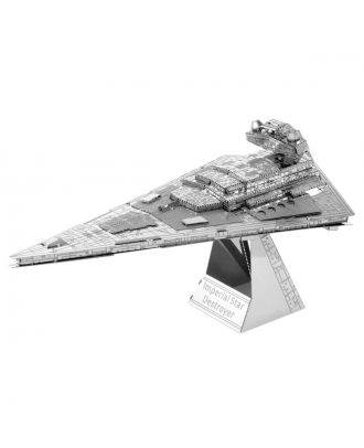 Star Wars Classic – Imperial Star Destroyer Metal Earth 3D Laser Cut Metal Puzzle by Fascinations