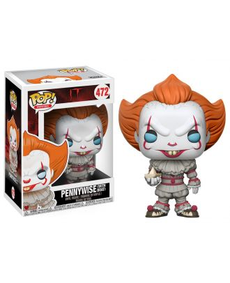 POP Movies: IT - Pennywise with Boat Funko POP! Vinyl Figure #472