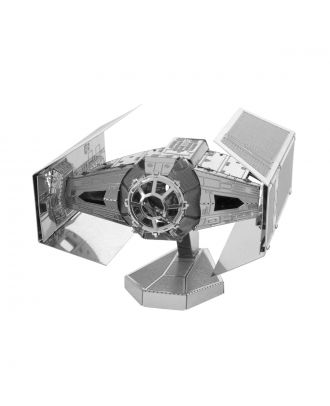 Star Wars Classic – Darth Vader's TIE Fighter Metal Earth 3D Laser Cut Metal Puzzle by Fascinations