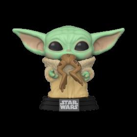 POP Star Wars: Mandalorian - The Child With Frog Funko POP! Bobble Head Vinyl Figure #379